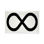 Infinity Symbol Math Notation Rectangle Magnet (10