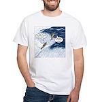 Salmon Run White T-Shirt