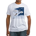 Salmon Run Fitted T-Shirt