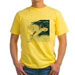 Salmon Run Yellow T-Shirt