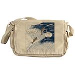 Salmon Run Messenger Bag