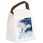 Salmon Run Canvas Lunch Bag