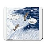 Salmon Run Mousepad