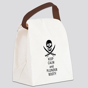 Plunder Booty Canvas Lunch Bag