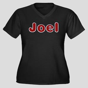 Joel Santa Fur Plus Size T-Shirt