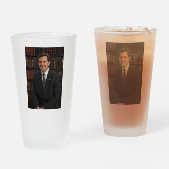 Jim DeMint, Republican US Senator Drinking Glass