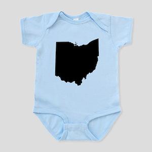 Black Ohio Body Suit