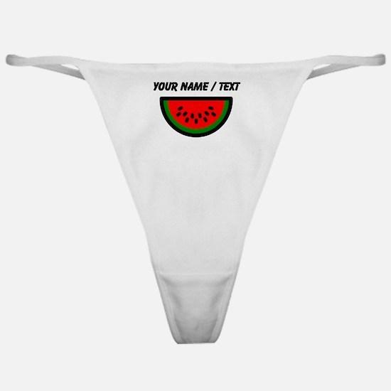 Custom Watermelon Classic Thong