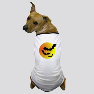 Bat Silhouettes Dog T-Shirt