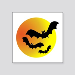 Bat Silhouettes Sticker