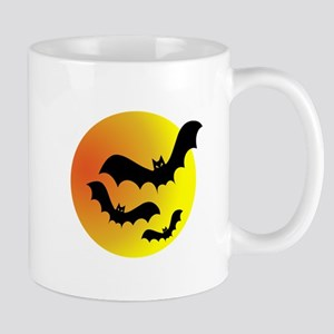 Bat Silhouettes Mugs