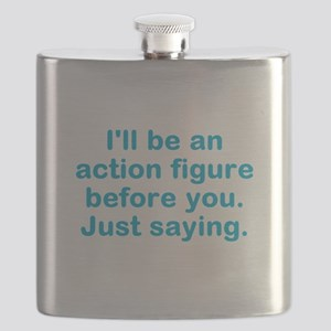 Action Figure Flask