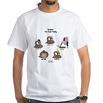Asp Family White T-Shirt