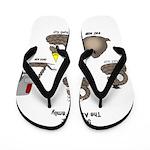 Asp Family Flip Flops