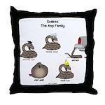 Asp Family Throw Pillow