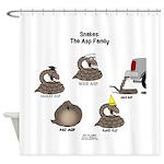 Asp Family Shower Curtain