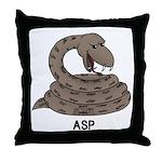 Asp Throw Pillow