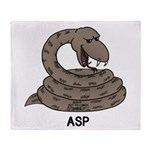Asp Throw Blanket