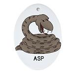 Asp Ornament (Oval)
