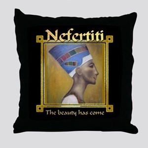 Nefertiti Throw Pillow