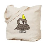 Dumb Asp Tote Bag