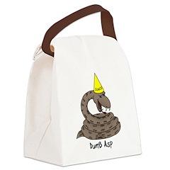 Dumb Asp Canvas Lunch Bag