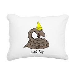 Dumb Asp Rectangular Canvas Pillow