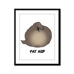 Fat Asp Framed Panel Print