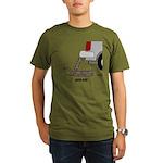 Jack Asp Organic Men's T-Shirt (dark)