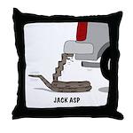 Jack Asp Throw Pillow