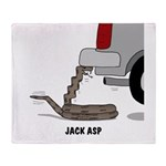 Jack Asp Throw Blanket