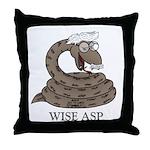 Wise Asp Throw Pillow