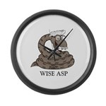 Wise Asp Large Wall Clock