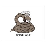Wise Asp Small Poster