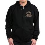 Smart Asp Zip Hoodie (dark)