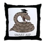 Smart Asp Throw Pillow