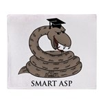 Smart Asp Throw Blanket