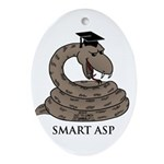 Smart Asp Ornament (Oval)