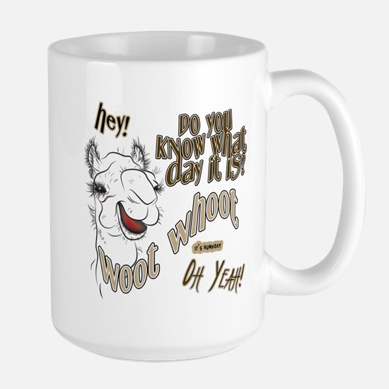 Hump Day OhYeah Camel Large Mug