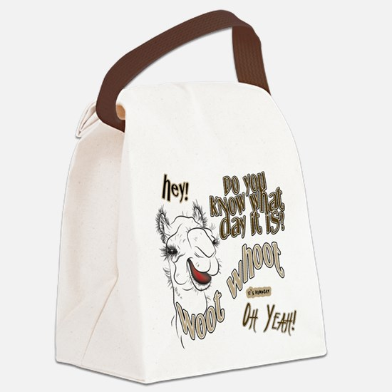 Hump Day OhYeah Camel Canvas Lunch Bag