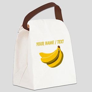Custom Bunch Of Bananas Canvas Lunch Bag