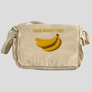 Custom Bunch Of Bananas Messenger Bag
