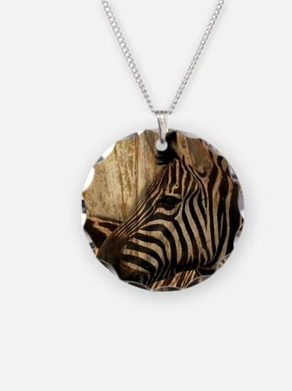 wild zebra safari Necklace