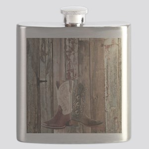 country cowboy boots Flask