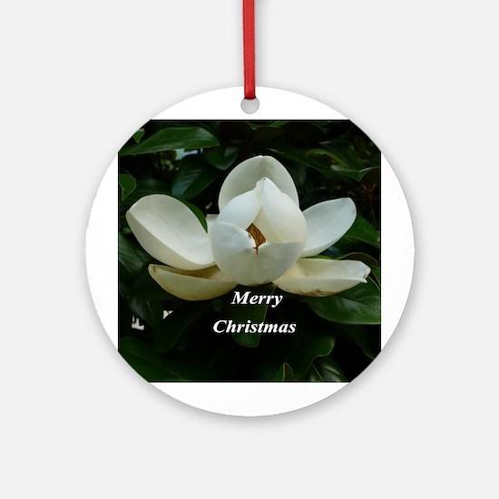 Southern Magnolia Ornament (Round)