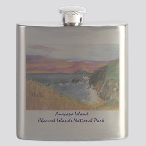 Anacapa Island Channel Islands National Park Flask