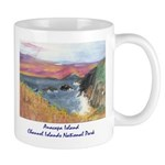 Anacapa Island Channel Islands National Park Mugs