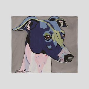 Italian Greyhound - Louie Throw Blanket