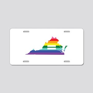 Virginia equality Aluminum License Plate