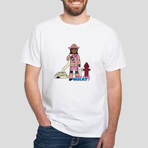 Firefighter - Custom2 White T-Shirt